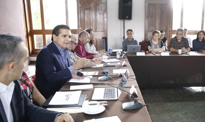 gabinete Silvano Aureoles Conejo Michoacán