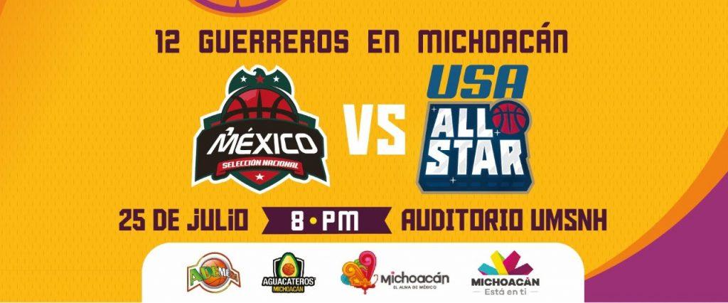 Photo of Ingreso Con Boleto A Auditorio De UMSNH Desde 18:00 Hrs Para Juego México VS USA All-Star