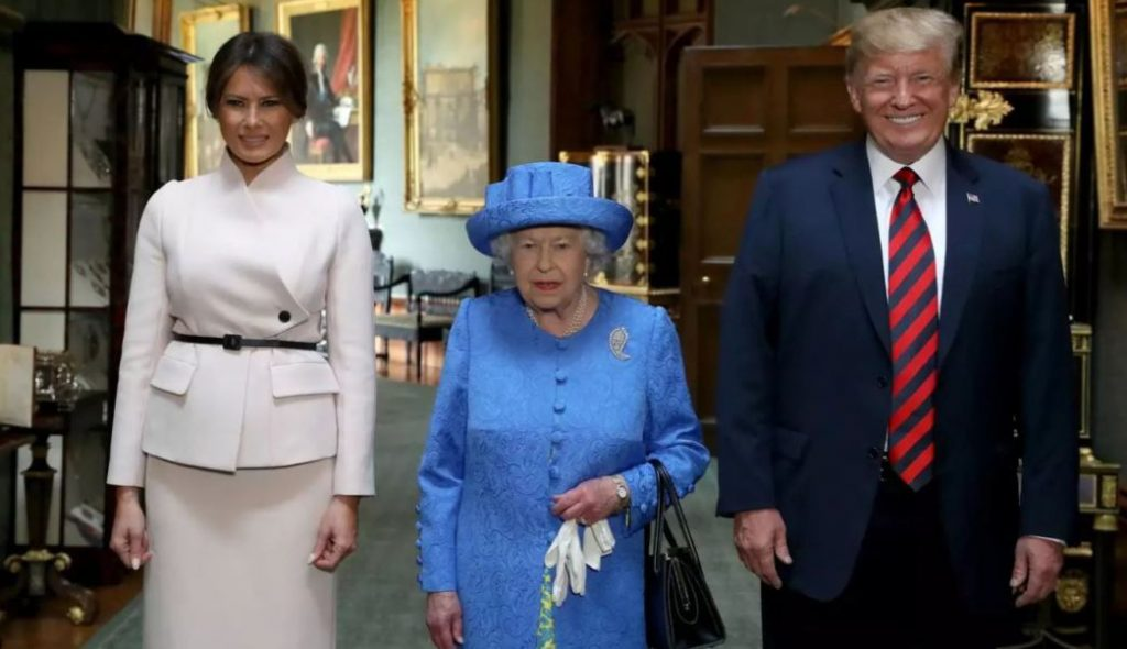 Photo of Melania Trump Dice Que Fue Un Honor Conocer A La Reina Isabel II