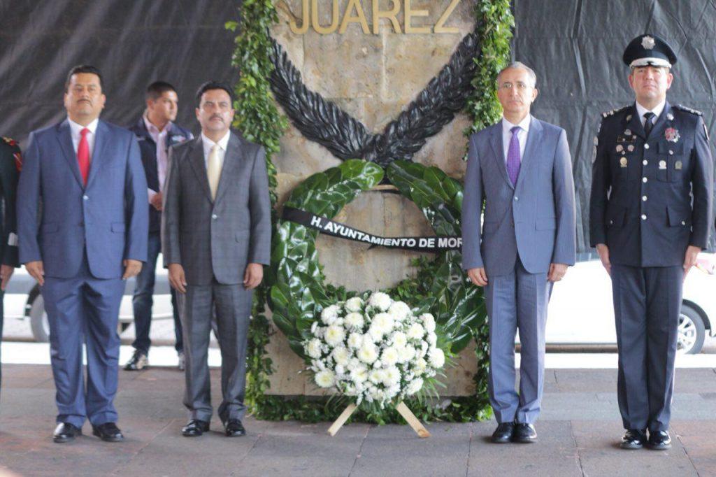 Photo of #Morelia Hoy Conmemora CLXVI Aniversario Luctuoso De Benito Juárez