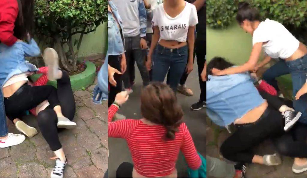 Photo of #Video Indigna En Redes Golpiza Que Recibe Chica Por Estudiantes De ULA