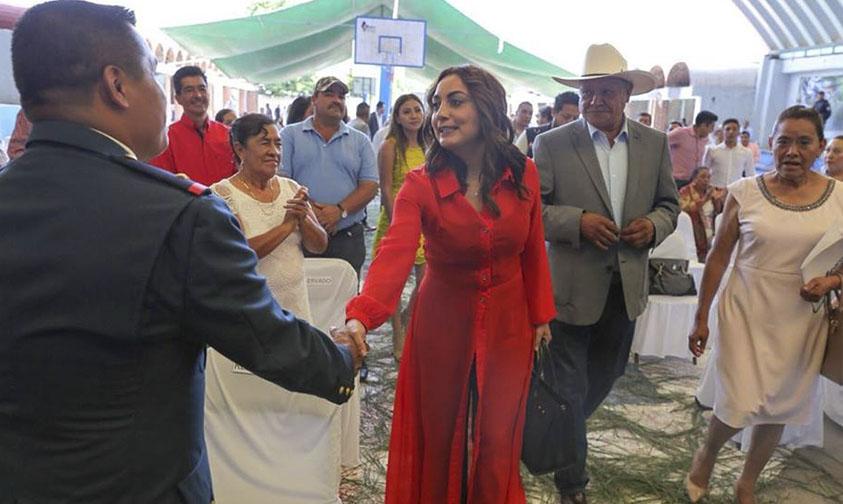 Julieta López Bautista campaña valores Michoacán