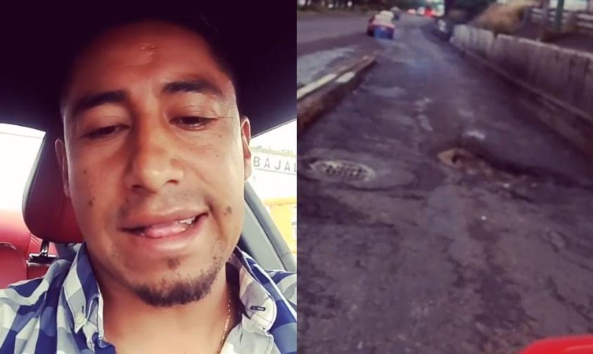 """Photo of #Video Jugador De Monarcas Exhibe Los """"Cráteres"""" De Bachelia"""