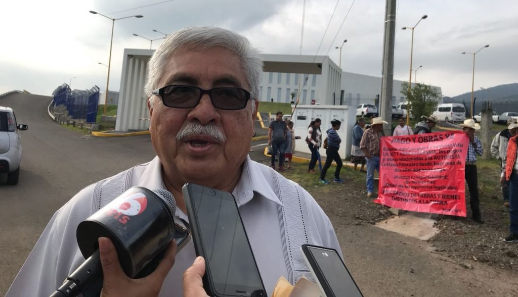 Photo of Pagos A Campesinos Por Construcción De Autopista Cuitzeo-Pátzcuaro Sigue Sin Cubrirse