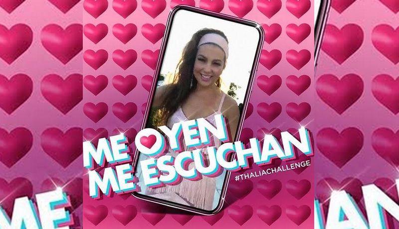 """Photo of #Vídeo Thalía Lanza Éxito Del """"Me Escuchan, Me Oyen, Me Sienten…"""""""