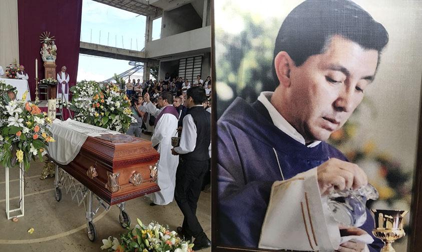 Photo of #Uruapan Miles Dieron Sentido Adiós Al Padre Miguel Gerardo Flores
