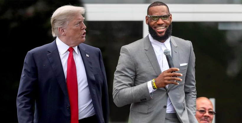 Photo of Trump Anda De Peleonero Hasta Tonto Le Dijo En Twitter A LeBron
