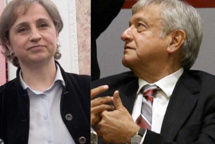 Photo of ¿Qué Raro? Aristegui Confesó Que Votó Por AMLO