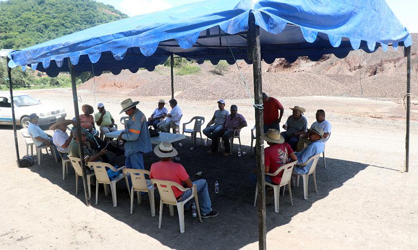 ArcelorMittal Lázaro Cárdenas bloqueo