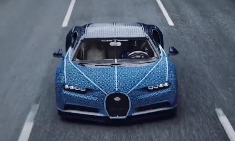Photo of #Vídeo Llega Bugatti En Versión Lego Y Se Puede Conducir