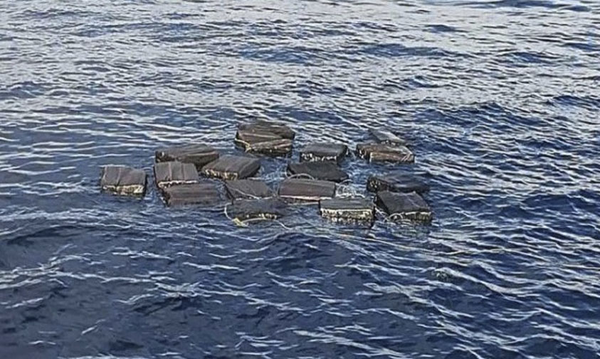 Photo of #Vídeo Aseguran Más De Media Tonelada De Cocaína Que Narcos Arrojaron Al Mar