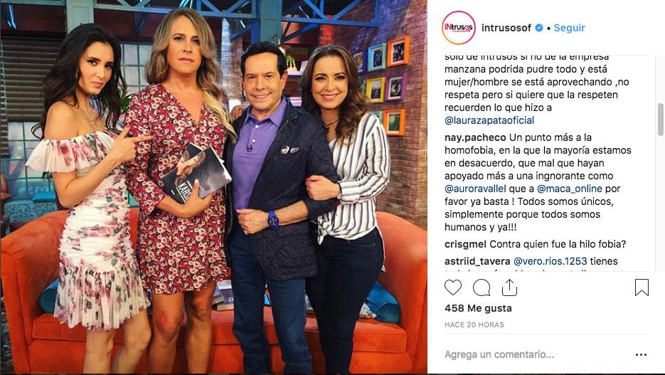 Photo of #Video Aurora Valle Hace Caras A Actor Trans En Pleno Programa