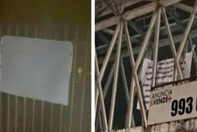 """Photo of Cártel De Sinaloa Tapiza Con Narcomantas Aguascalientes Para Advertir A CJNG Que """"La Plaza Se Respeta"""""""