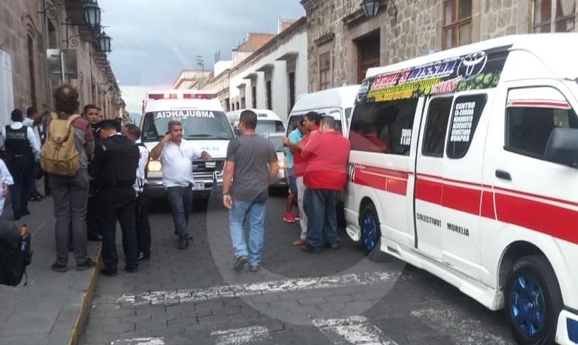 Photo of #Morelia Raúl Combiero De Ruta Roja Asegura Que Polis Estatales Lo Golpearon