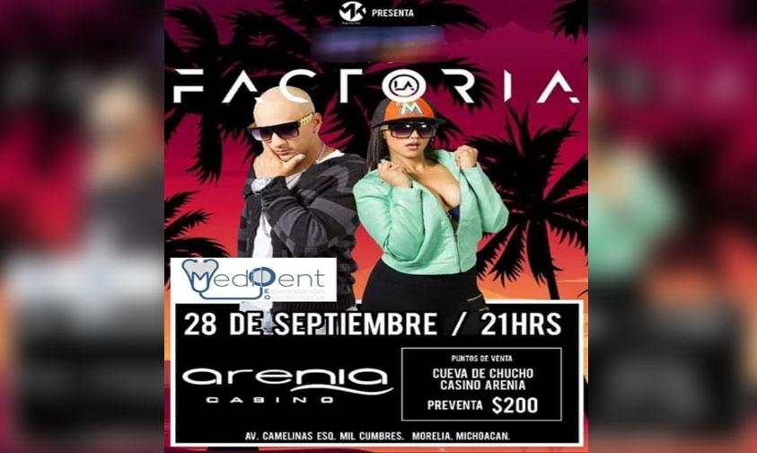"""Photo of #Morelia """"La Factoria"""" Pondrá A Bailar A Todos Este 28 De Septiembre"""