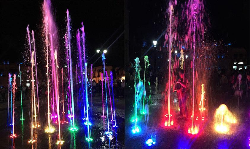 Fuentes Danzarinas Multicolor Morelia