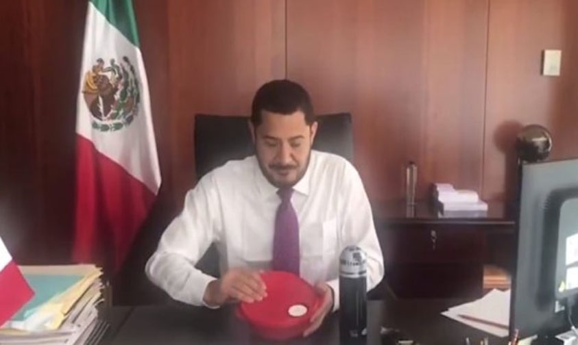 Photo of #Vídeo Senador De Morena Lanza El #TupperChallenge