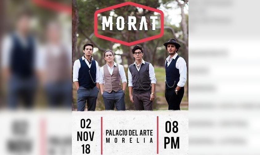 Photo of MORAT Retacha A Morelia Este Noviembre A Hacer Sonar Todos Sus Éxitos