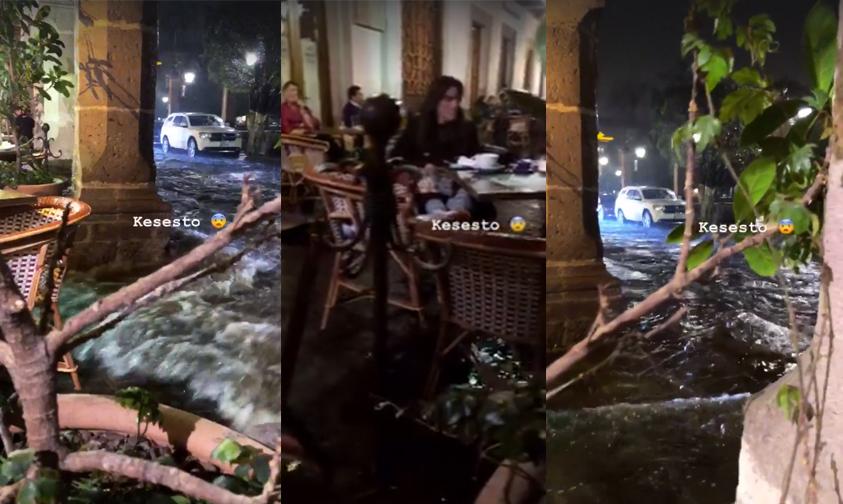 Photo of #Morelia Se Convierte En Venecia Tras Fuertes Lluvias De Anoche