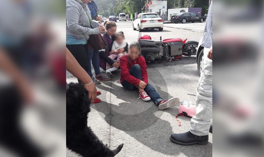 Photo of #Morelia Choque Entre Auto Y Motocicleta Deja Una Menor Lesionada