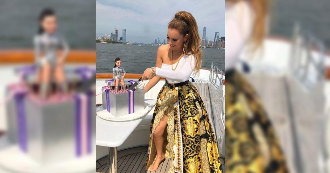 Photo of Thalía Usó Falda De Casi 200 Mil Pesos Para Celebrar Su Cumpleaños