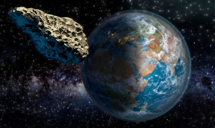 Photo of Este Lunes Asteroide Pasará Cerca De La Tierra
