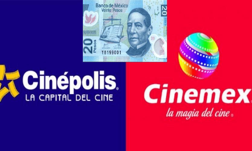 Photo of Cinépolis Y Cinemex Cobraran 20 Pesos Para Celebrar El Mes Patrio