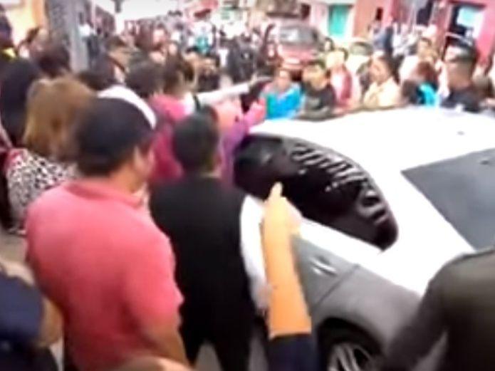 Photo of #Video Intentan Linchar A Conductora Que Atropelló A Embarazada En CDMX