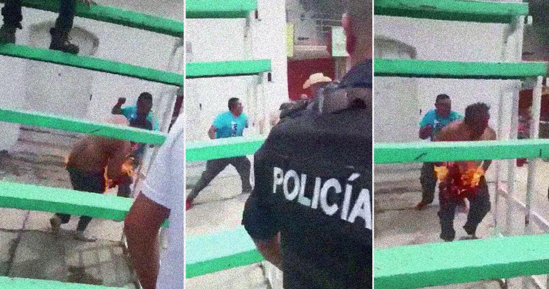 Photo of #México Otro Linchamiento A Cuatro Robachicos, Le Prenden Fuego A Uno Y Muere En Hidalgo