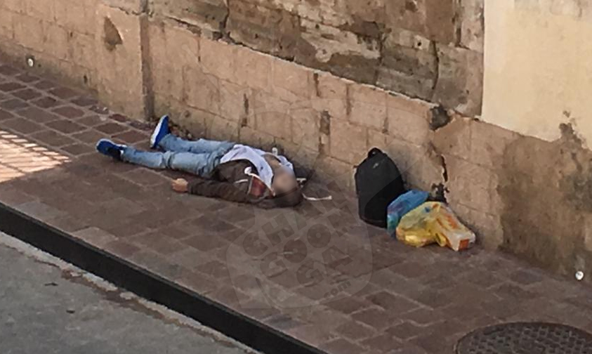 Photo of #Morelia Muere Señor Frente Iglesia Del Mercado De San Juan