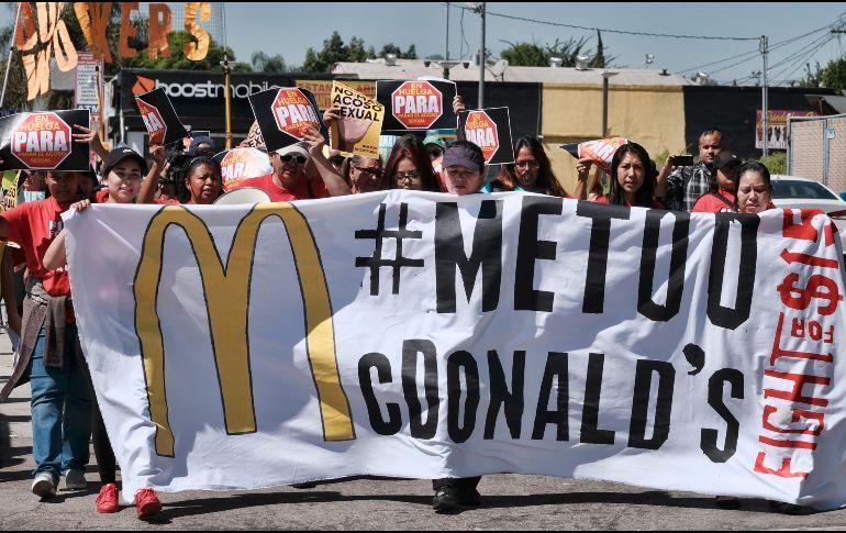 Photo of Trabajadoras De Mcdonald's Hacen Huelga Contra El Acoso Sexual