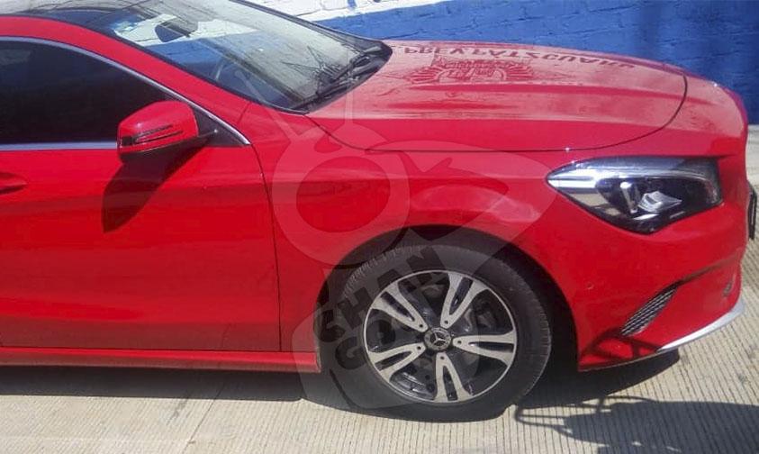 Photo of Brian De 23 Con Mercedes Benz Rojo Y Pistola Asaltaba Gasolineras En Pátzcuaro