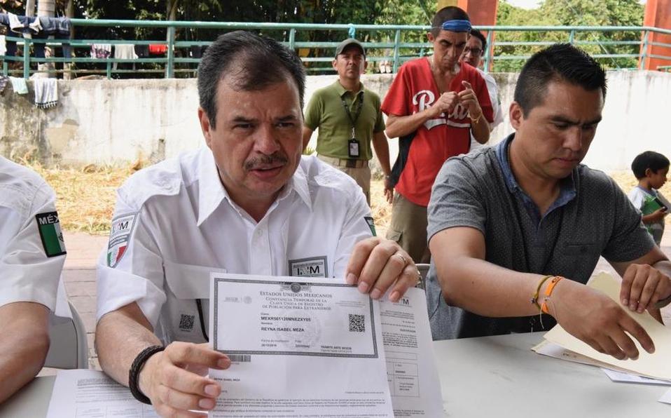 Photo of #México Entregan Los Primeros 111 CURP A Migrantes Centroamericanos