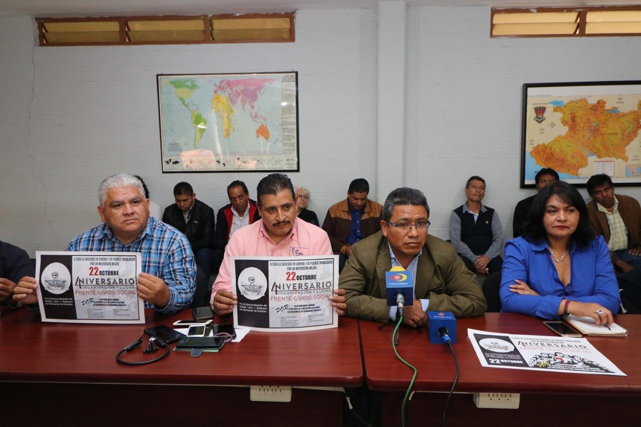 Photo of Anuncia FCS Megamarcha, Toma De Alcaldías Y Del Puerto De Lázaro Cárdenas