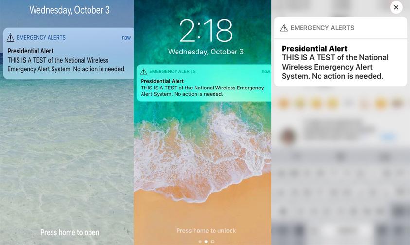 Photo of #Video Se Activa La Alerta Presidencial En Smartphones En #EUA