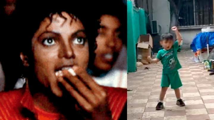 "Photo of #Video Niño Cautiva Bailando ""Thriller"" Mejor Que Michael Jackson"
