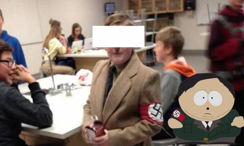 Photo of OMG! Niño Se Disfraza De Hitler Y Su Madre Se Dice Orgullosa De Él