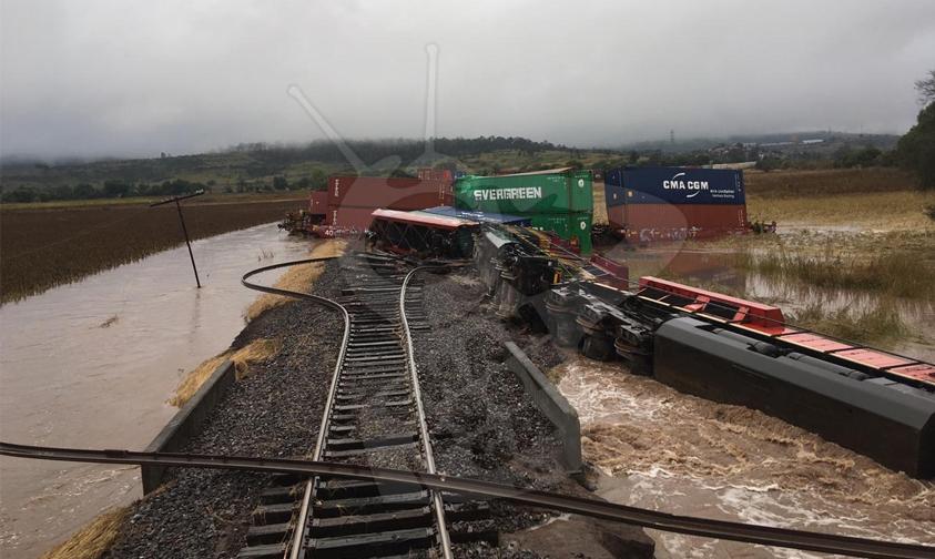 Photo of #Morelia Tren Se Descarrila A Causa De Las Lluvias