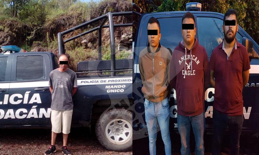 Photo of #Michoacán En Diferentes Puntos De Uruapan Arrestan A 4 Vatos Con Armas De Fuego