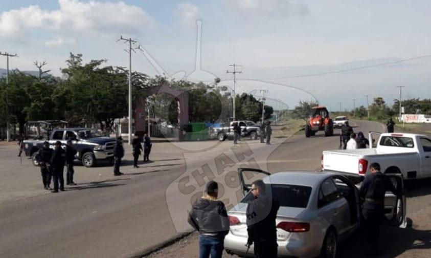 ssp busca responsables Buenavista Michoacán