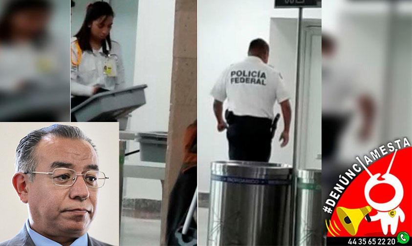 Enrique Peña Argüelles AIM denuncia