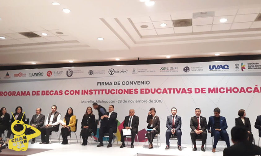 Photo of #Michoacán Sector Privado Pone 20 MDP En Becas Para Estudiantes De Bachillerato