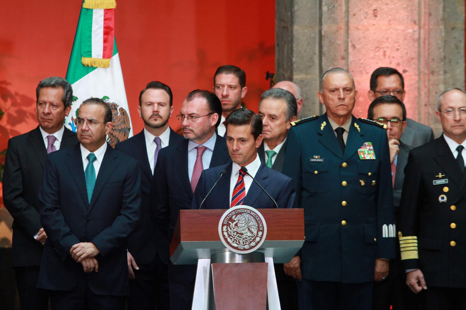 Photo of Estado Mayor Presidencial Retira Escoltas A Gabinete De Peña Nieto