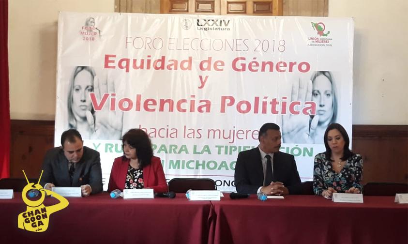 Photo of #Morelia PT Presenta Foro Elecciones 2018 Equidad De Género Y Violencia Política