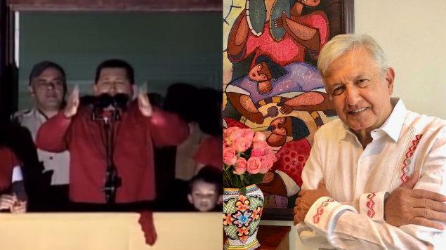 """Photo of Difunden Audio De AMLO Dando Discurso """"Chavista"""""""