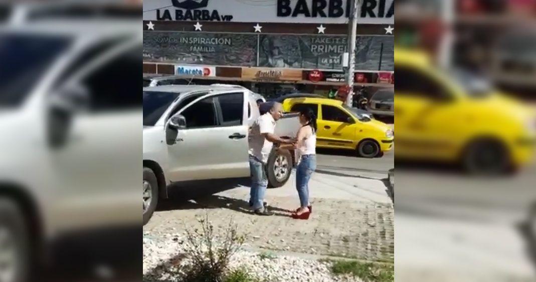 Photo of #Video Sorprende A Su Pareja Con Amante Y Casi Lo Agarra A Batazos
