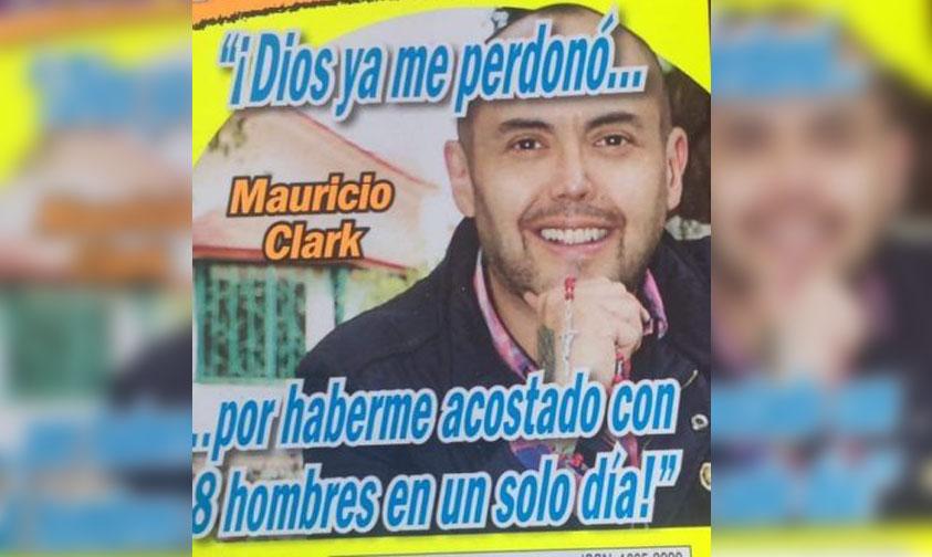 Photo of Mauricio Clark Asegura Que Dios Ya Perdonó La Vida Loca Que Llevaba