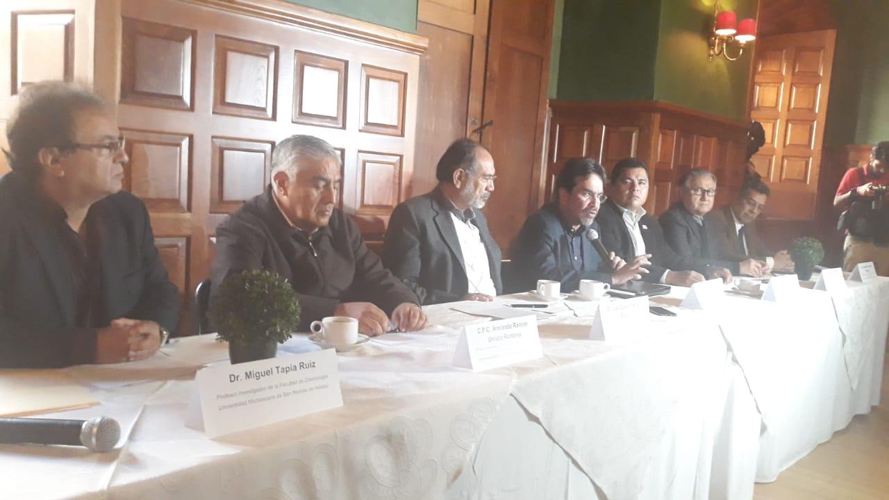 Photo of Miguel López Miranda Aspira A La Rectoría De La Michoacana