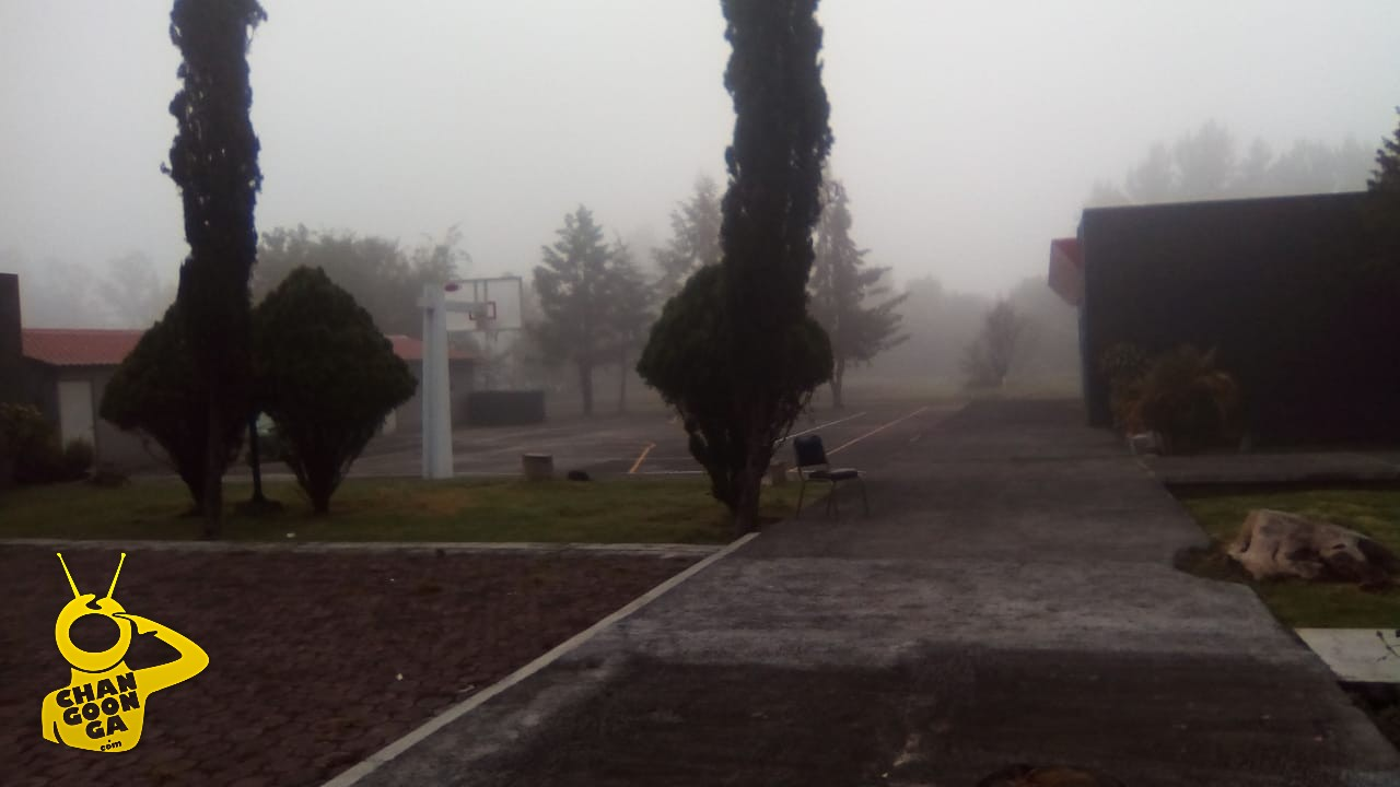 Photo of #Morelia Amaneció En Medio De La Niebla