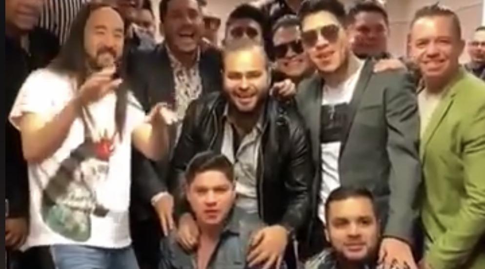 Photo of #Video ¡Fierro Pariente! Steve Aoki Disfruta Música De Los Recoditos